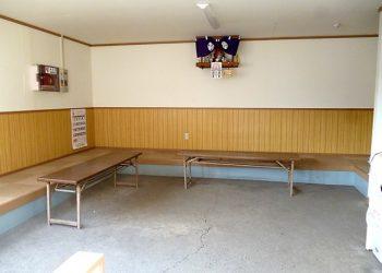 工場の方の休憩スペース